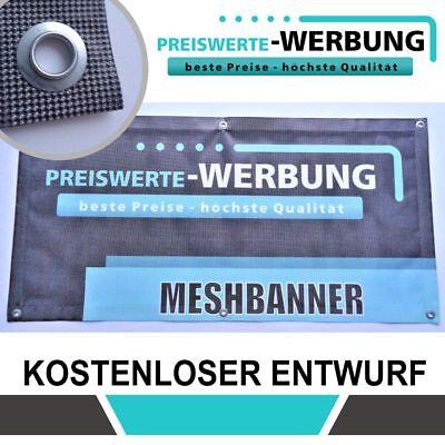 FäHig Meshbanner 450cm X 200cm - Druck & Entwurf Im Preis - Top Qualität