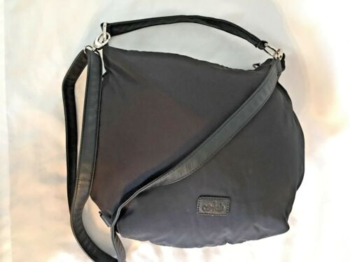 Handbag W handgreep 6 met vakken ritsColab 5x11x12verstelbare Purse en Zwarte 55 PkNwXnO80Z