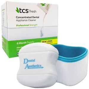 TCS-amp-Denture-Bath-24-Weekly-Sachets-Cleaning-Flexible-Dentures-Cleaner