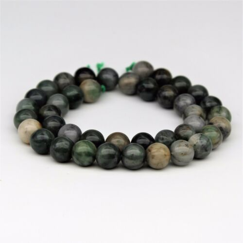 Polar Jade Gemstone Round Beads For Bracelet Necklace Jewelry Beadwork 6-10mm