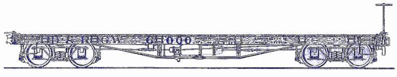 THEVER & RIO GRANDE hjul  TIE bil Sn3 modellllerlerl järnvägroad hantverkman trä Kit TC5071