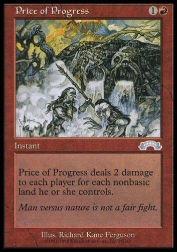 Price of Progress-Price of Progress MTG Magic EX Exodus ENG//ENG