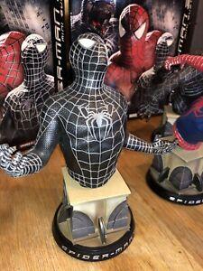 Buste Spiderman 3 (Spiderman noir) Marvel Sideshow