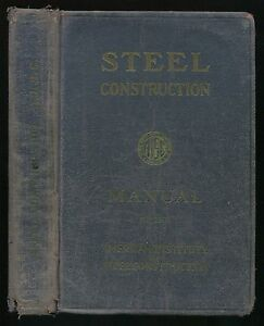 Book-STEEL-CONSTRUCTION-Manual-for-Architects-Engineers-Builders-AISC-1946