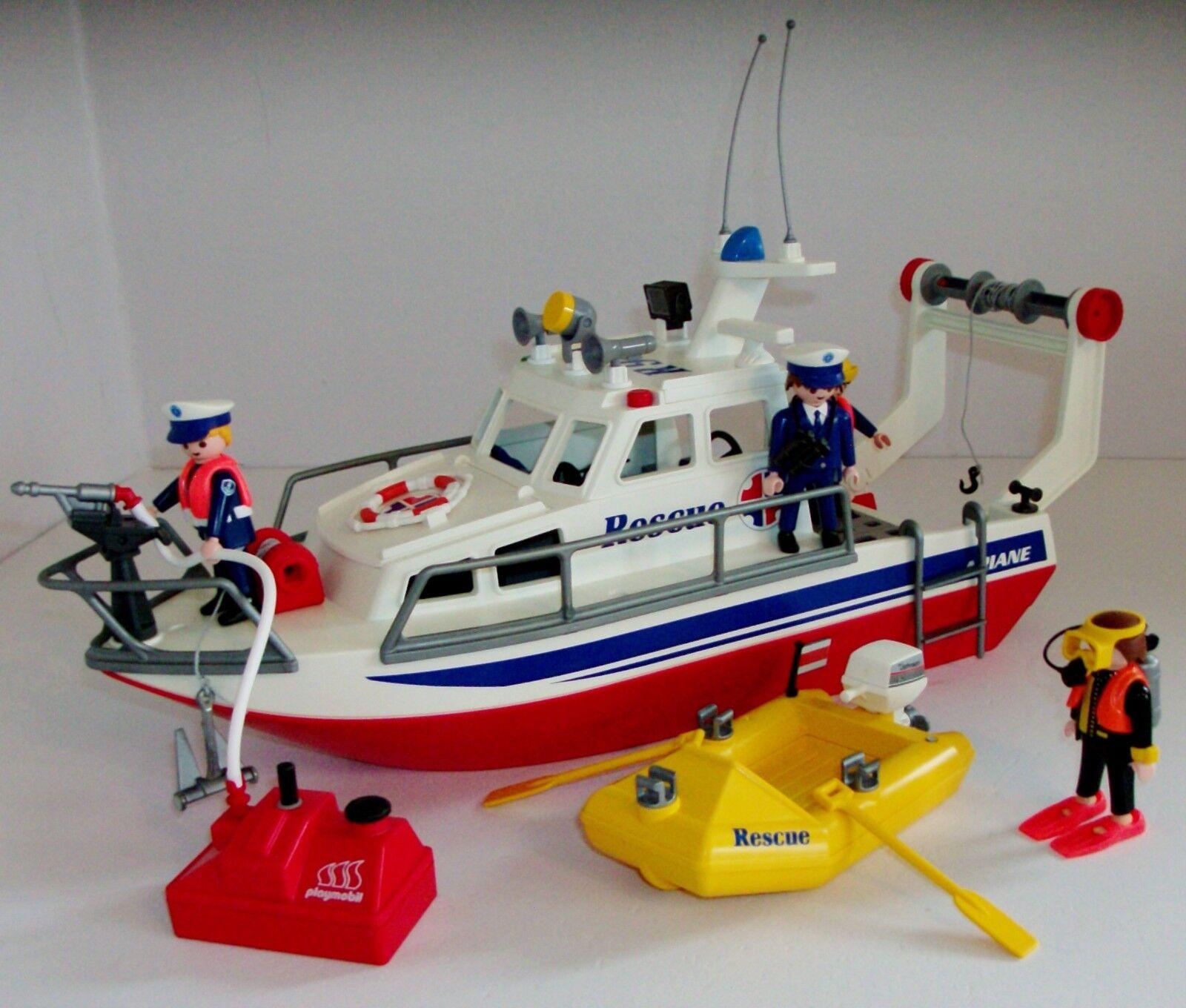 PLAYMOBIL Ricerca Costiera Nave di soccorso 3941