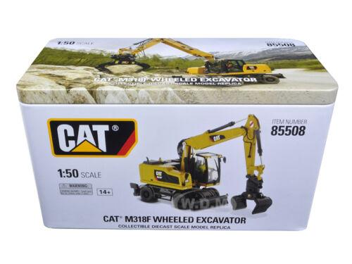 CAT CATERPILLAR  M318F WHEELED EXCAVATOR 1//50 MODEL BY DIECAST MASTERS 85508