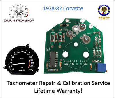 1975-1977 Corvette Pre-Calibrated Tachometer Tach Circuit Board
