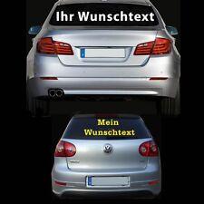 Auto Aufkleber Wunsch Text Firma Domain Heckscheibenaufkleber Schriftzug 1 Meter