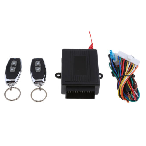 Car Remote Central Lock Locking Keyless Entry System,2 Remote Controller