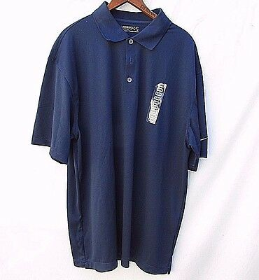 Nike Golf Fit Dry Polo Top SS Navy Blue Mens XL