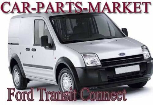 Plate Left Side Wing Door Mirror Glass for Ford Transit Connect 2002-13