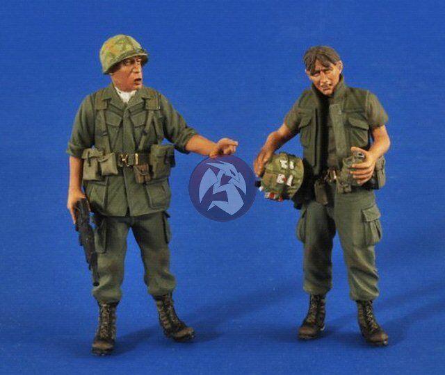 Verlinden 1 35  Search & Destroy  US Soldiers in Vietnam War (2 Figures) 2527