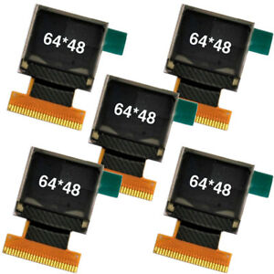 Details about 5Pcs 0 66'' White OLED Display Module 64x48 0 66