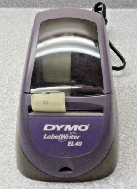 DYMO LABELWRITER EL40 DRIVER