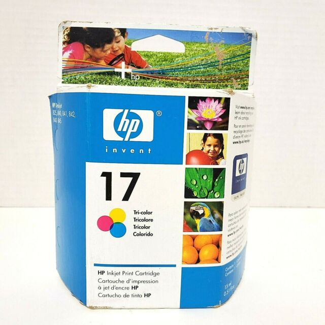 HP 17 Tri Color Ink Cartridge Exp. 2008