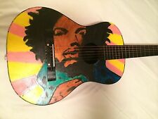 PLAYABLE ART.  CLASSICAL ACOUSTIC GUITAR.  HENDRIX ONE  OF A KIND!!
