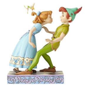 Disney-Traditions-Jim-Shore-Peter-und-Wendy-65h-Anniversary-4059725-Enesco
