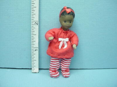 Miniature Young Man Tom #10826 Dollhouse Doll,Handcrafted Erna Meyer 1//12th