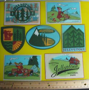 Yogi-Bear-Jellystone-Park-Fabric-Iron-On-Appliques-2