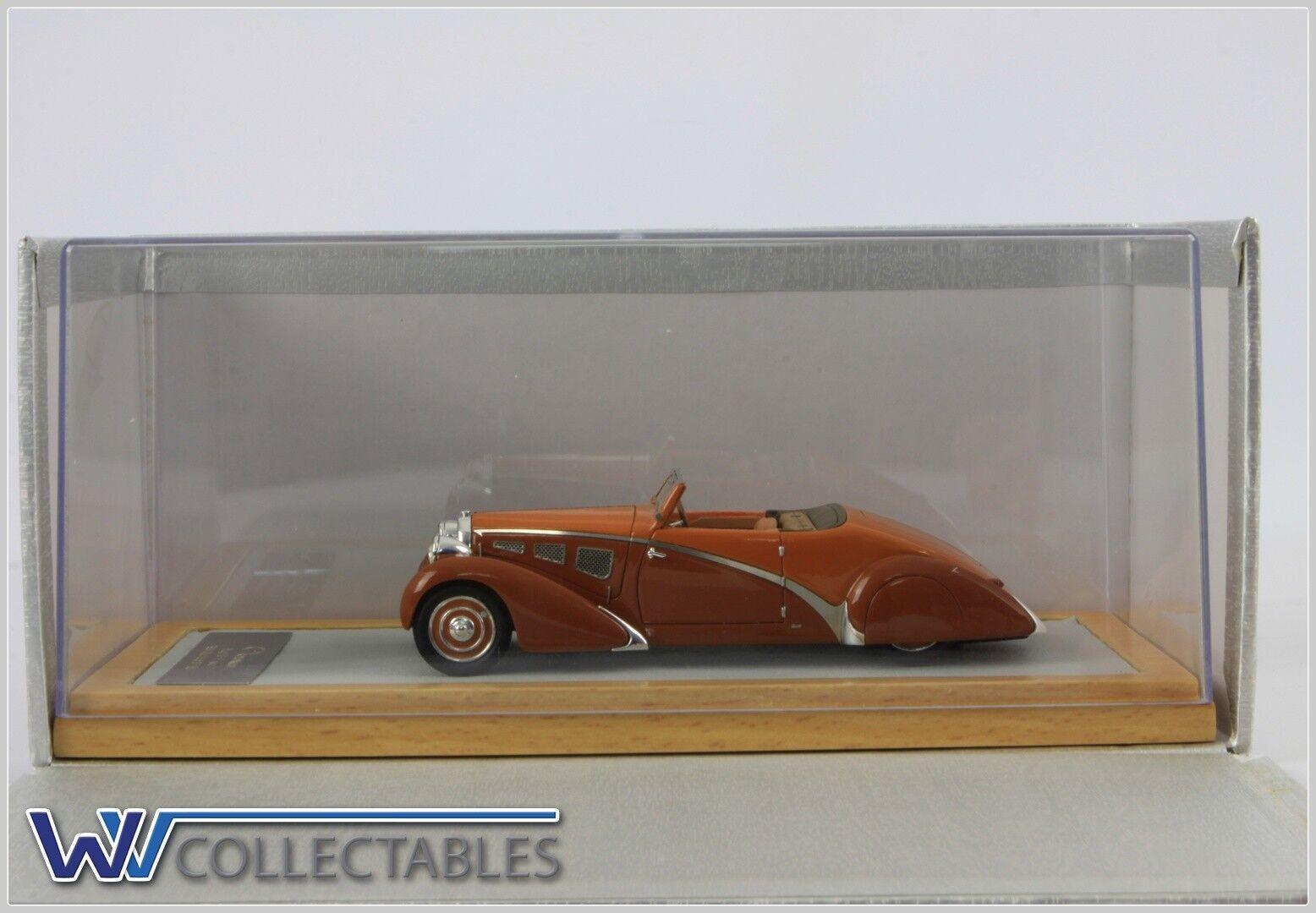 Bugatti t57 P nee 1934 Cabrio 57156 1 180 pieces Ilario Chromes 1 43 CROMATI 050