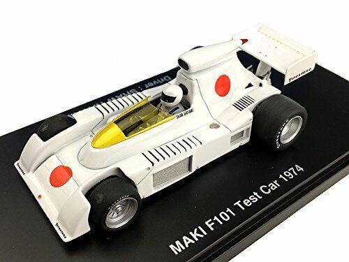 1 43 Maki F101 Test Voiture 1974  Résine Modèle fomula Hiroshima Figure Hayami nouveau  en stock