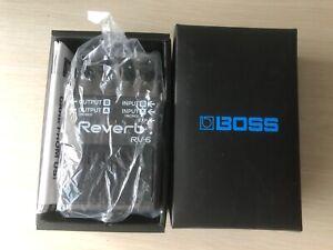 Boss-RV-6-Reverb-Digital-Pedal-Brand-New-In-Box