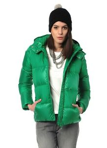 Adidas Originals duck down jacket G86240 women green fairway hooded ... cd40ec8c1d8d
