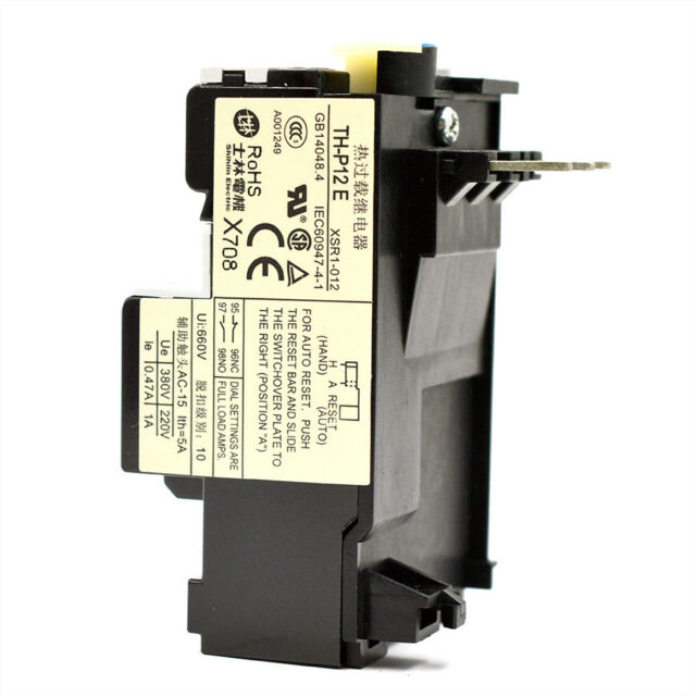 JR36B 3 Pole Thermal Overload Relay 22A 14-22A 1 NO 1 NC