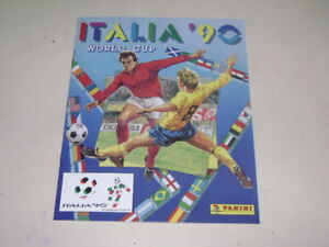 PANINI-WORLD-CUP-ITALIA-90-1990-ALBUM-OFFICIAL-REPRINT-100-complete
