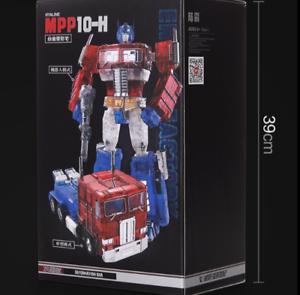 New, Deformation toys MPP-10H transparent alloy car robot model boy toy