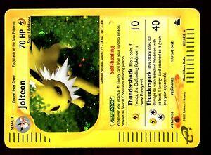 POKEMON-SKYRIDGE-HOLO-ENGLISH-CARD-CARTE-N-H12-H32-JOLTEON