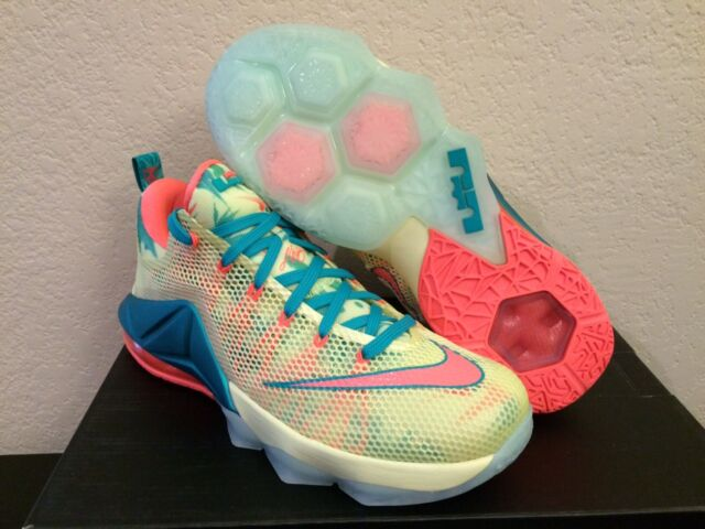 wholesale dealer 45bf1 64263 New DS Nike Lebron 12 XII Low PRM Lebronold Palmer Sz 8 776652-383