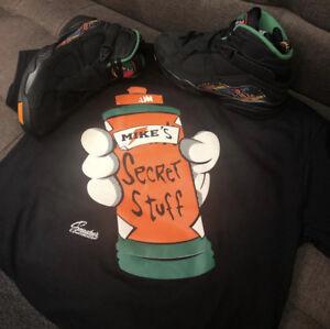 b6e9b260b6765c Image is loading Shirt-Match-Jordan-8-Air-Raid-Tinker-Secret-