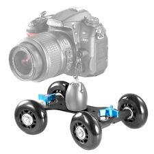 Neewer Mobile Rolling Slider Dolly Car Skater Video Track Rail for Speedlite