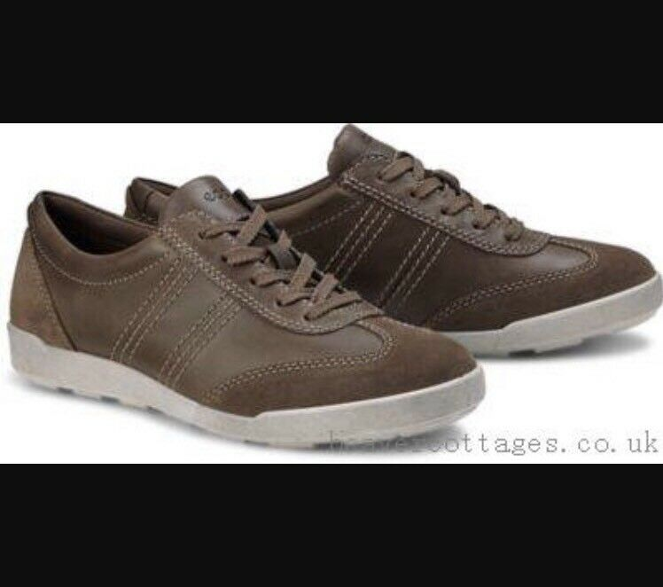 Ecco femmes chaussures Trainers Crisp Ii Taupe Lace Up 39