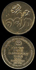 Israel Gov't Coin & Medal Corp. - Subscriber Token - thank you