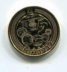 South-Africa-2011-R5-Unc-Reserve-Bank-90-Years-Gold-Plated-Commemorative-Coin