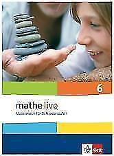 1 von 1 - Mathe Live / Schülerbuch 6. Schuljahr von Regina Puscher, Sabine Kliemann und C…