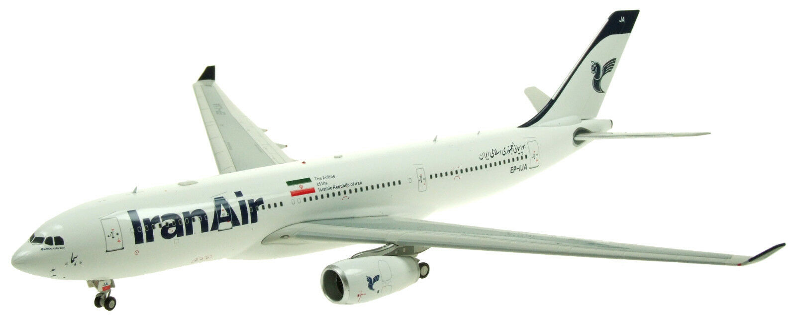 INFLIGHT 200 IF332IR001 1 200 IRAN AIR AIRBUS A330-200 EP-IJA WITH STAND