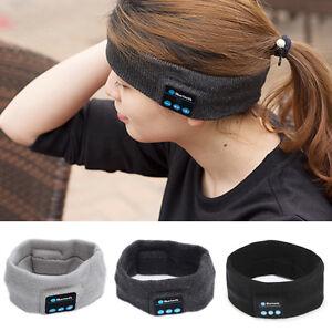 wireless bluetooth stereo headphone sports headset sleep. Black Bedroom Furniture Sets. Home Design Ideas