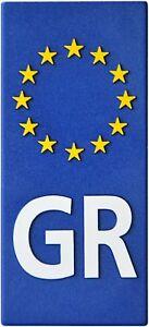 Euro-Griechenland-GR-Europa-Relief-Emblem-Greece-Flagge-HR-19158-selbstklebend