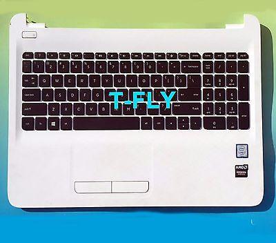 US Black Palmrest keyboard for HP 15-af131dx//15-af141dx//15-af137cl with touchpad