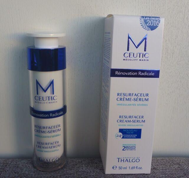M-ceutic By Thalgo Resurfacer Cream Serum, 50ml / 1.69oz, Brand New in Box