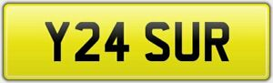 YASSER-ASIAN-REG-NUMBER-PLATE-Y24-SUR-FOR-YAS-YASAR-WITH-NO-HIDDEN-DVLA-FEES