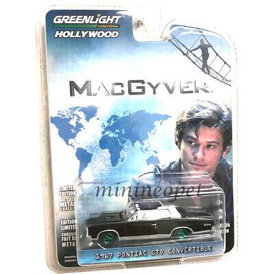 1:64 GreenLight *HOLLYWOOD 24* MacGyver 1967 Pontiac GTO Convertible *NIP*