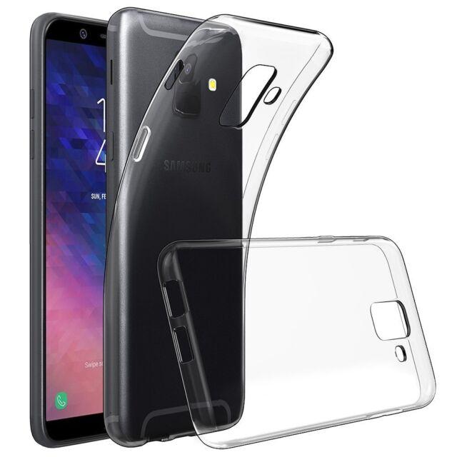 new arrival ecacf 18873 for Samsung Galaxy A6 (2018) Transparent Clear Silicone Slim GEL Case