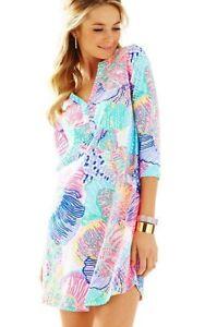 36804dc4b9223f Lilly Pulitzer Ali Out To Sea Dress Pima Cotton Size S | eBay