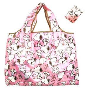 new Snoopy Foldable Shopping Nylon Bag ~ Comic Strip