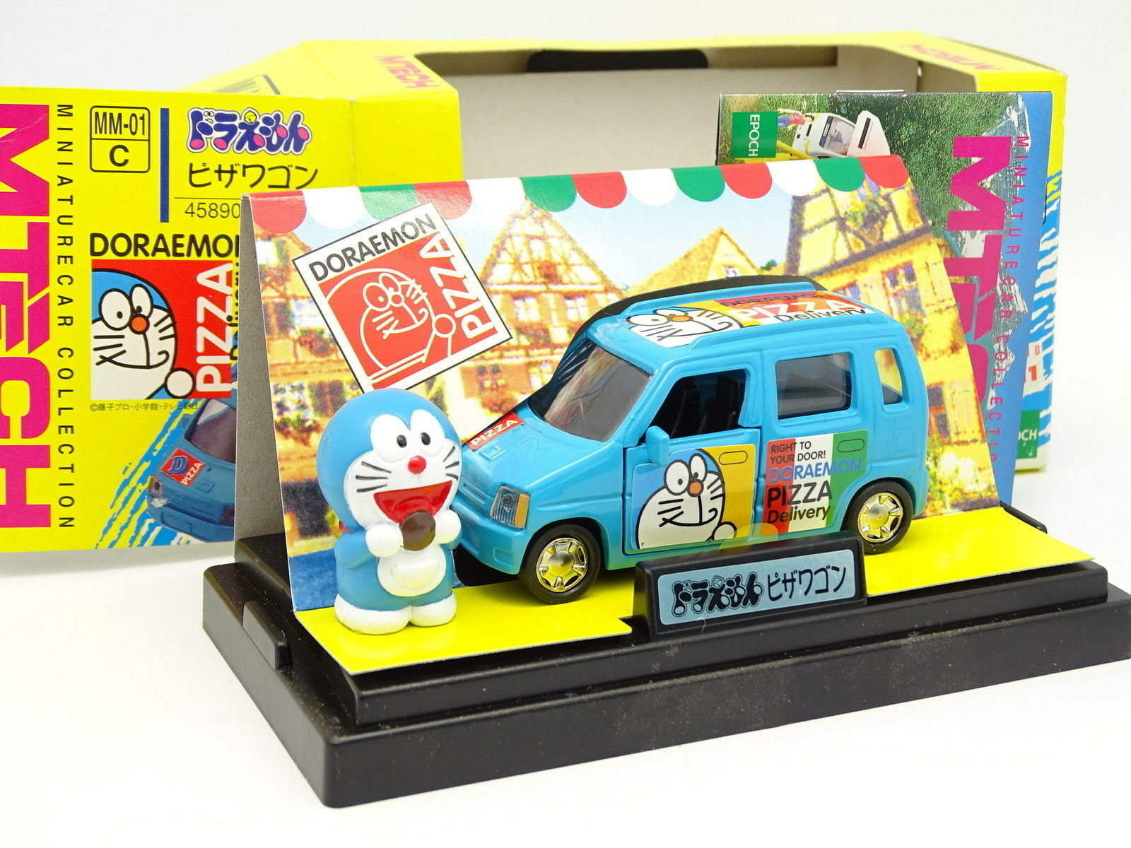 M TECH 1 43 - Suzuki Wagon R Pizza Doraemon