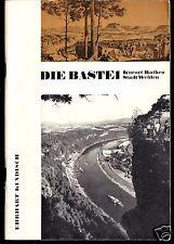 Kundisch, Erhart; Die Bastei - Kurort Rathen - Stadt Wehlen, 1971